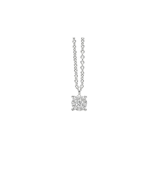Willems Creations ketting 18kt witgoud M4114GB2