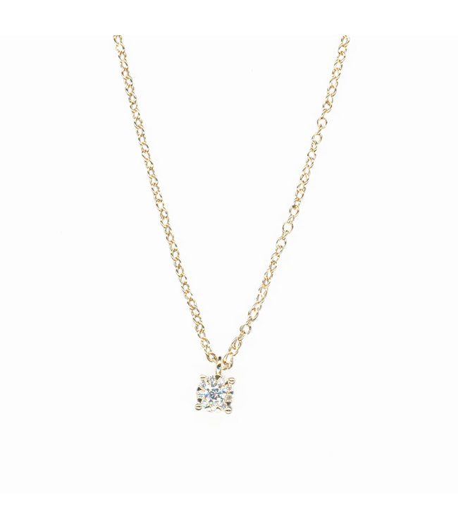 Willems Creations ketting 18kt geelgoud M4114GB1