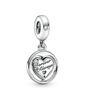 Pandora Spinning Forever & Always Soulmate dangle 799266C01