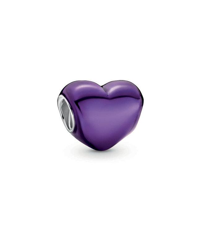 Pandora Metallic Purple Heart 799291C01