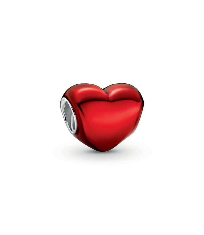 Pandora Metallic Red Heart 799291C02