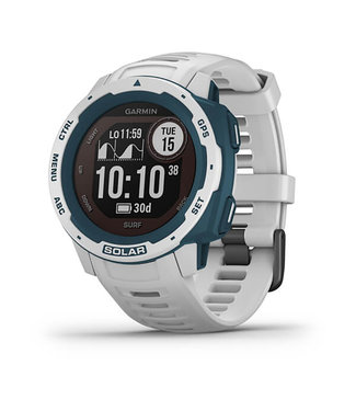 Garmin Instinct Solar - Surf Edition - Surf Cloudbreak heren smartwatch 010-02293-08