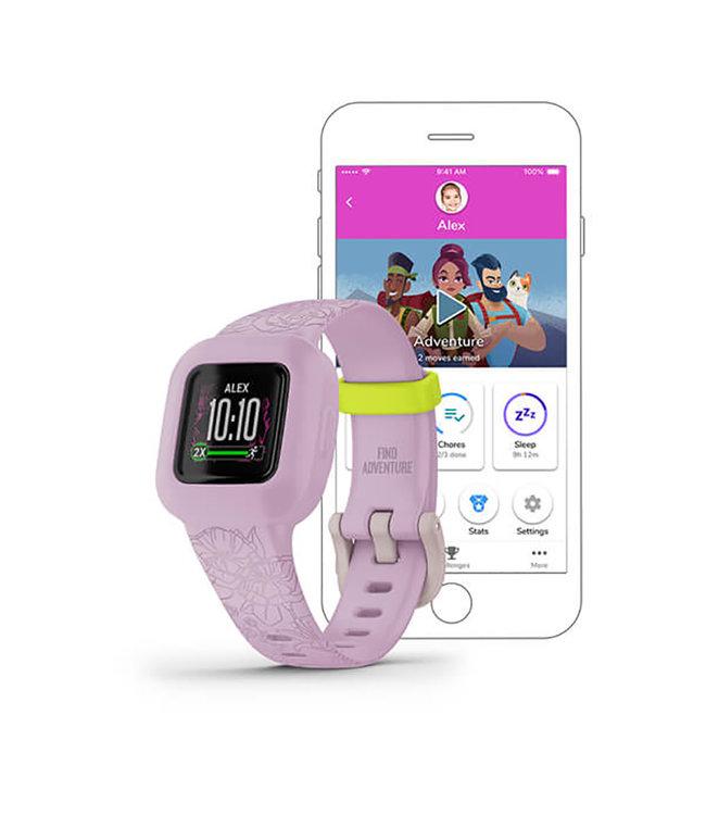 Garmin Vivofit jr3, Lilac Floral fitness-tracker 010-02441-01