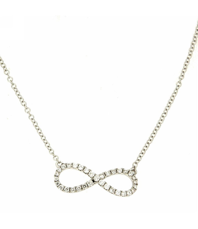 Willems Creations ketting 18kt Infinity R8062GB2
