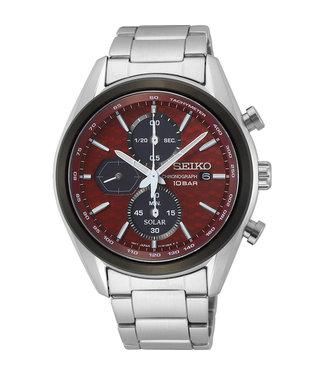 Seiko Solar Chrono New Link heren horloge SSC771P1