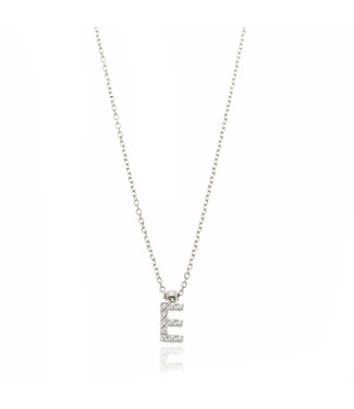 Willems Creations ketting 18kt witgoud Letter 755416EB