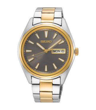 Seiko New Link heren horloge bicolor SUR348P1