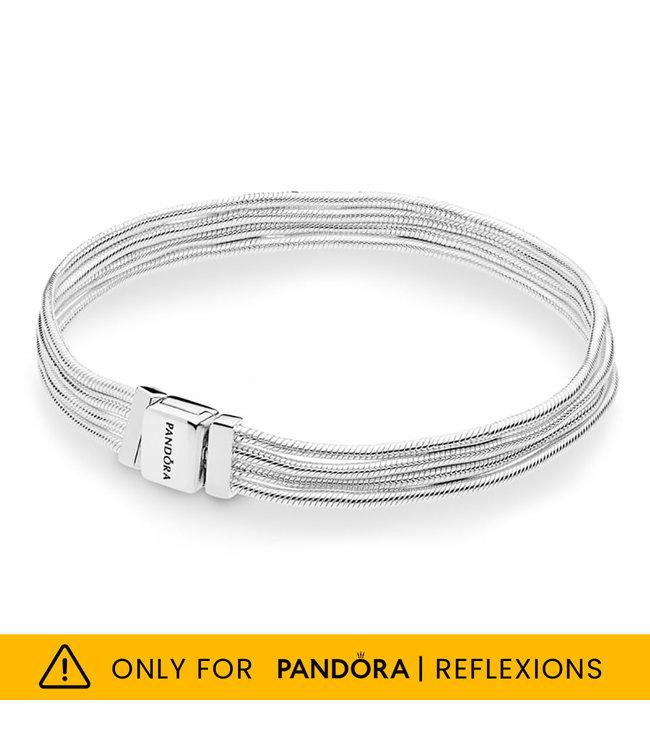 Pandora Reflexions Multi Snake Chains bracelet 597943