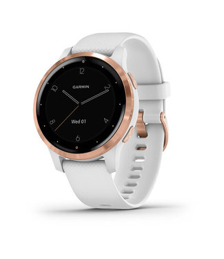 Garmin Vivoactive 4S, white, rose gold 010-02172-22