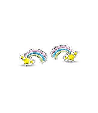 Orage Kids & Teenz oorbellen Regenboog Pastel O/3538