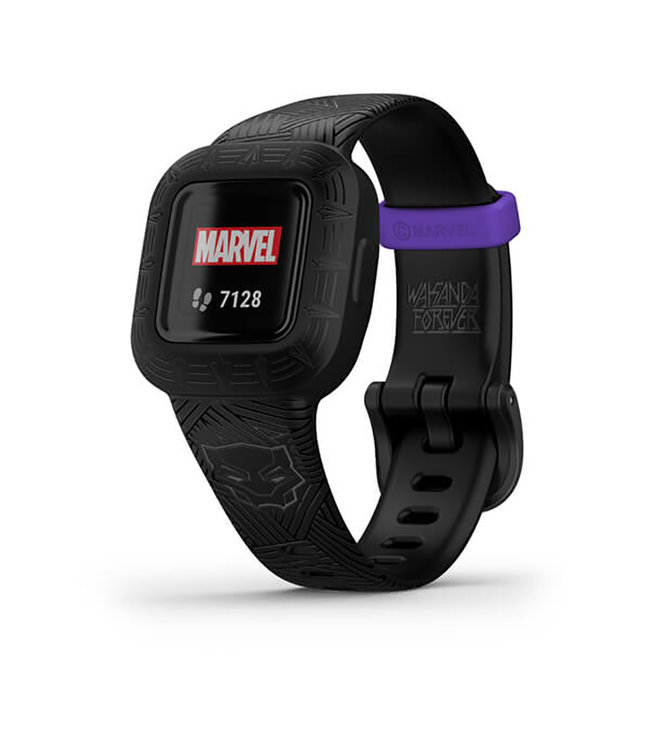Garmin Vivofit Jr.3 Kids Fitness Tracker - Marvel, Black Panther 010-02441-10