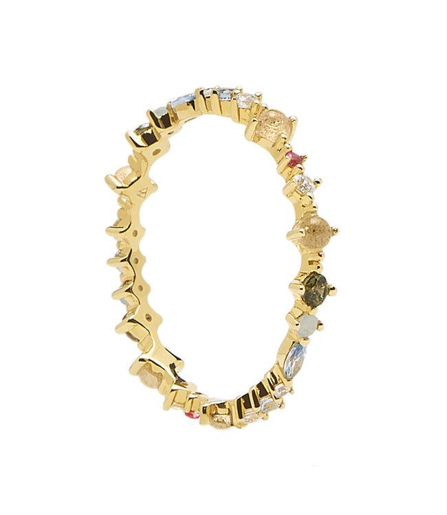 PDPaola ring Atelier - Papillon gold - AN01-191