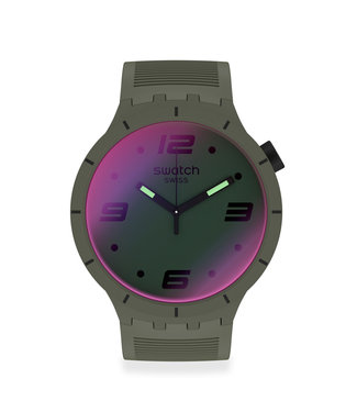 Swatch Futuristic Green SO27M105