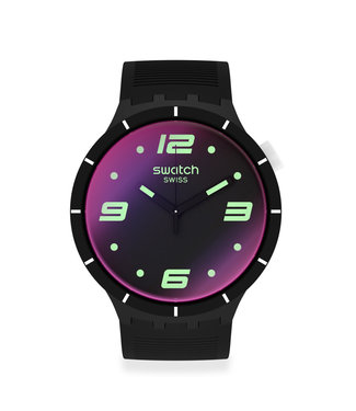 Swatch Futuristic Black SO27B119