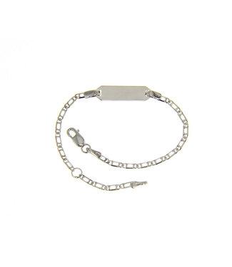 Willems Creations armband Identiteit 18kt witgoud 171414