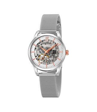 Festina Classic Automatic Skeleton dames horloge F20538/1