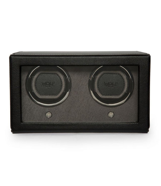 WOLF watchwinders & opbergers Cubs Double Winder Black 461203