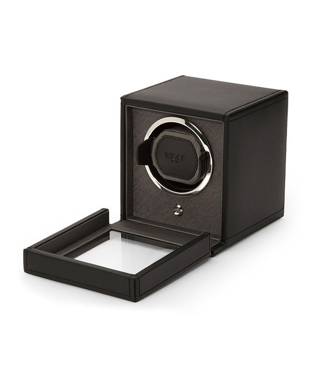 WOLF watchwinders & opbergers Cubs Single Winder Black 461103
