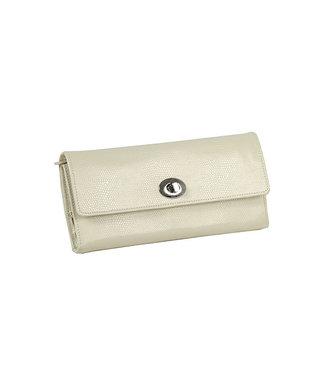 WOLF watchwinders & opbergers London Jewellery roll Cream 315353