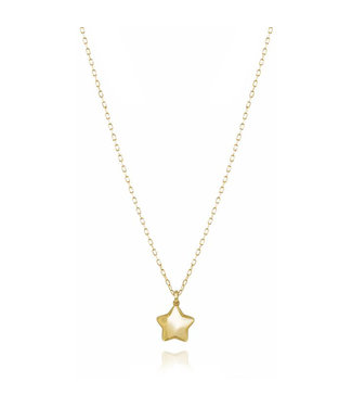 Willems Creations ketting Ster 18kt geelgoud 764654