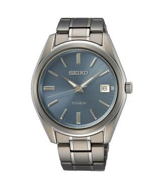 Seiko New Link Titanium heren horloge SUR371P1