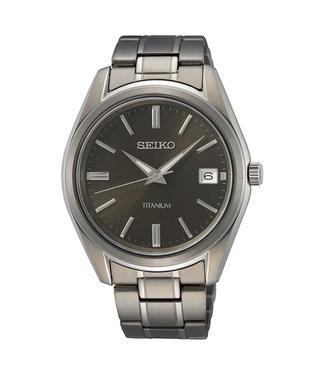 Seiko New Link Classic Titanium heren horloge SUR375P1