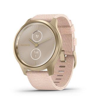 Garmin Vivomove Style, Light Gold, Blush Pink, Nylon 010-02240-02