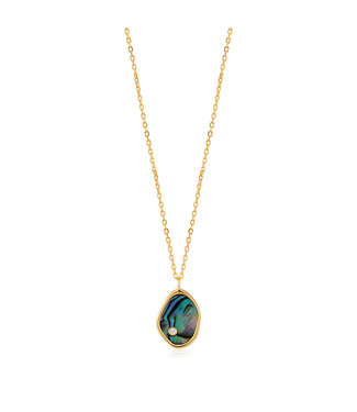 Ania Haie Turning Tides - Tibal Abalone necklace N027-01G