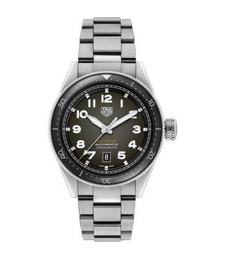 Tag Heuer Autavia Calibre 5 Chronometer Automatic heren horloge WBE5114.EB0173 Autavia