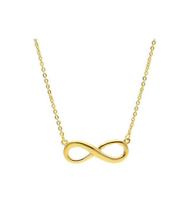 Willems Creations ketting geelgoud 18kt Infinity 217984P