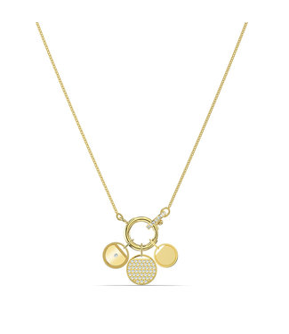 Swarovski Ginger collier charms gold 5567530