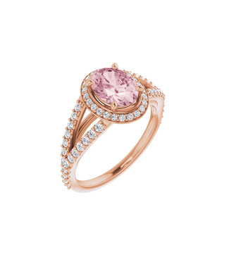 Willems Creations Pink Lady Entourage ring Morganiet 122986-R-86-MOR