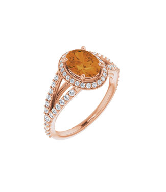 Willems Creations Pink Lady Entourage ring Citrine 122986-R-86-CIT