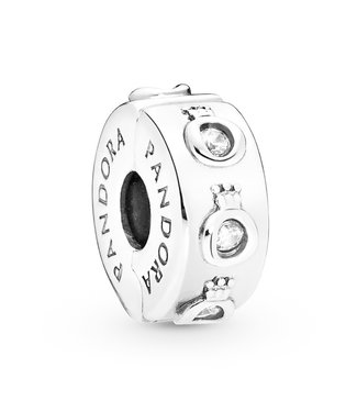 Pandora Sparkling Crown O fixed clips 798326CZ