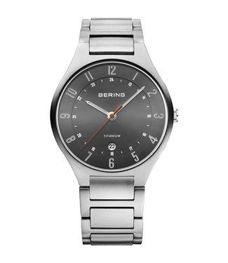 Bering Titanium heren horloge 11739-772