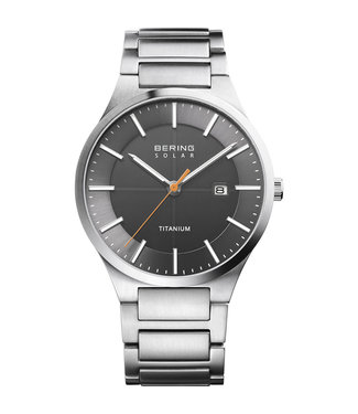 Bering Titanium Solar heren horloge 15239-779