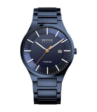 Bering Titanium Solar heren horloge 15239-797
