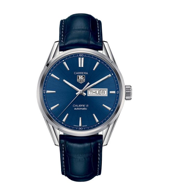 Tag Heuer Carrera Calibre 5 Day-Date heren horloge WAR201E.FC6292