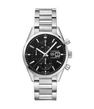 Tag Heuer Carrera Calibre 16 Automatic Chronograph heren horloge CBK2110.BA0715
