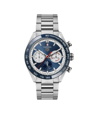 Tag Heuer Carrera 160 Years Anniversary Limited Edition Automatic Chronograph heren horloge CBN2A1E.BA0643