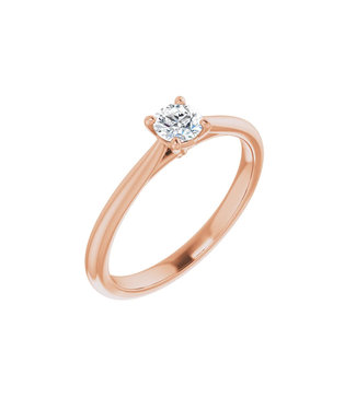 Willems Creations Guillaume Solitaire Ring 0.25ct - 124171-R-25