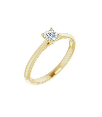 Willems Creations Guillaume Solitaire Ring 0.25ct - 124171-Y-25