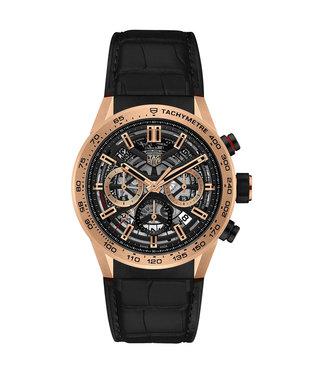 Tag Heuer Carrera Tourbillon rose gold Automatic Chronograph heren horloge CBG2051.FC6426