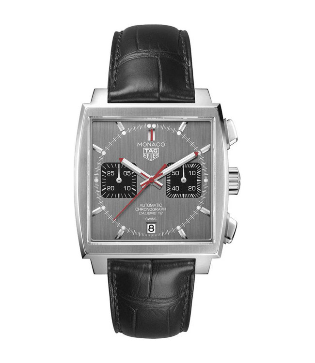 Tag Heuer Monaco Calibre 12 Automatic Chronograph Limited Edition heren horloge CAW211J.FC6476
