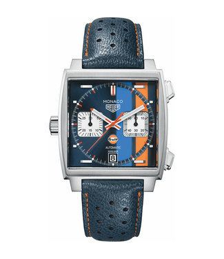 "Tag Heuer Monaco Gulf ""Steve McQueen"" Automatic heren horloge CAW211R.FC6401"