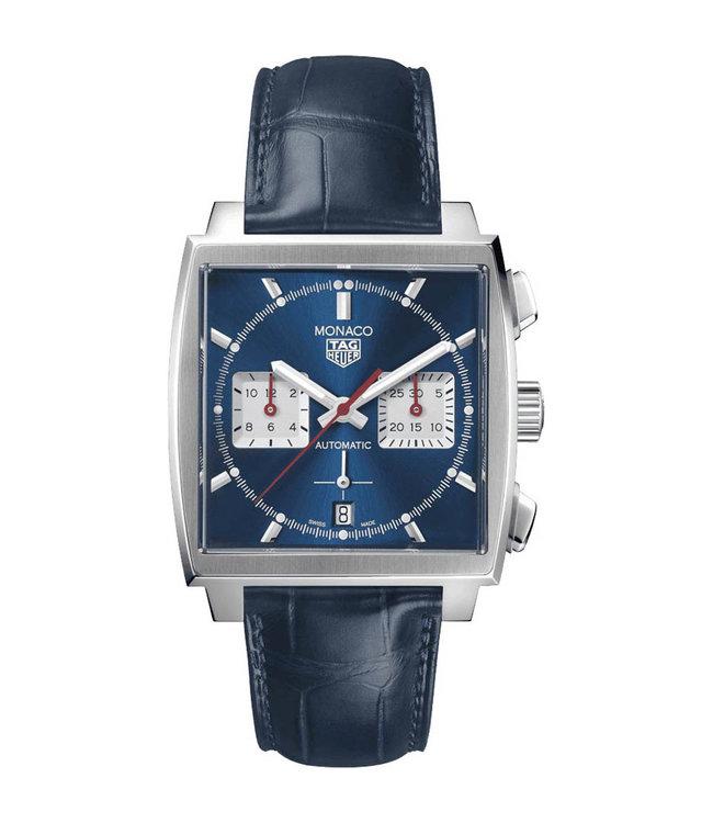 "Tag Heuer Monaco Tourbillon ""Steve McQueen"" Automatic Chronograph heren horloge CBL2111.FC6453"