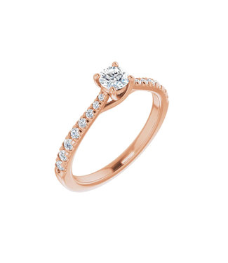 Willems Creations Lucy Solitaire Ring 0.25ct - 123230-R-25