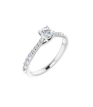 Willems Creations Lucy Solitaire Ring 0.35ct - 123230-W-35