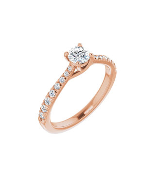 Willems Creations Lucy Solitaire Ring 0.35ct - 123230-R-35