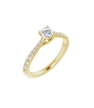 Willems Creations Lucy Solitaire Ring 0.35ct - 123230-Y-35